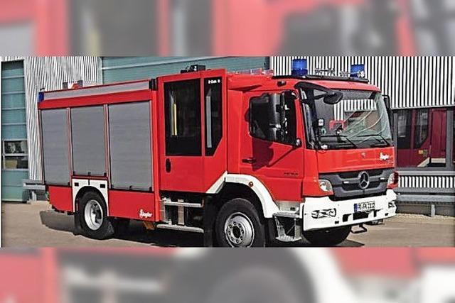 Neues Kappler Feuerwehrauto