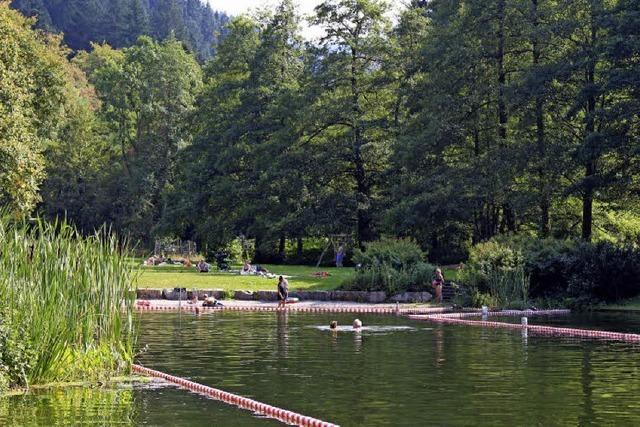 Naturschwimmbad Sulzburg: Baden ohne Bademeister, aber dafür umsonst