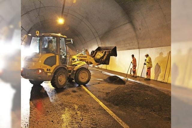 Tunnel bleibt auch kommende Woche zu
