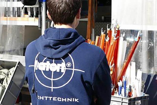 So laufen die Tatort-Dreharbeiten in Bernau