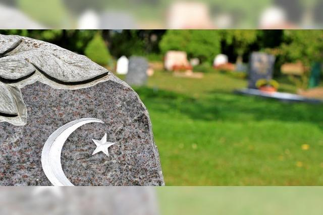 Muslimisches Gräberfeld wird derzeit vorbereitet
