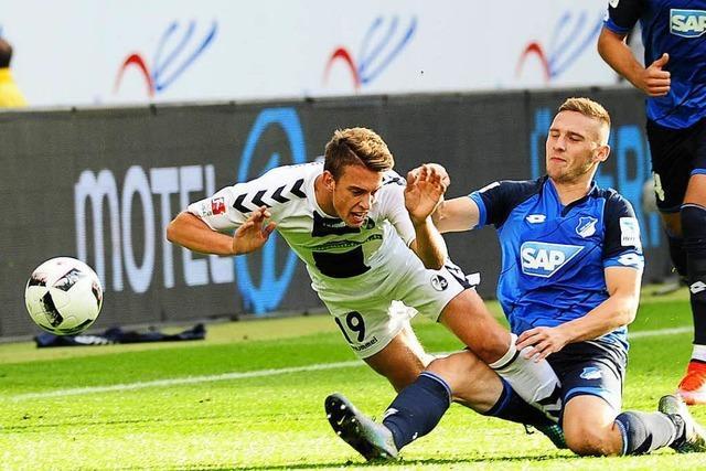 SC möchte heute der TSG Hoffenheim Paroli bieten