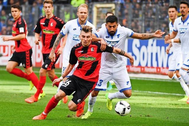 SC Freiburg spielt unentschieden gegen 1899 Hoffenheim