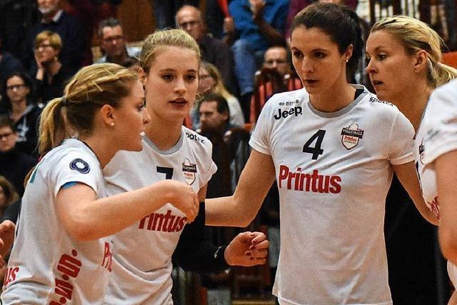 Offenburger Volleyballerinnen verunsichern sich selbst