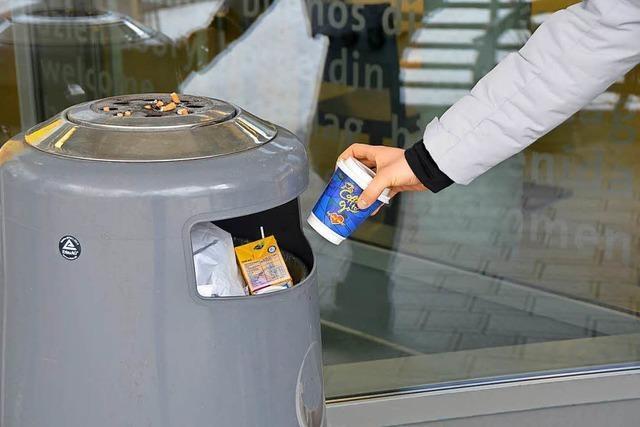 Schädliche To-Go-Becher sind nach wie vor beliebt