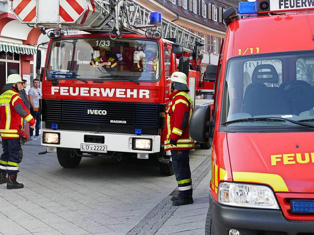 Feuerwehreinsatz Lörrach Heute