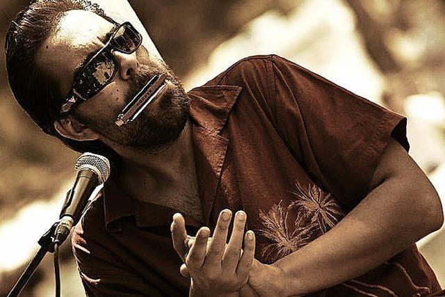 Victor Puertas und Band