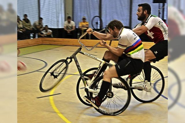 Die Radball-Europameisterschaft war der Höhepunkt