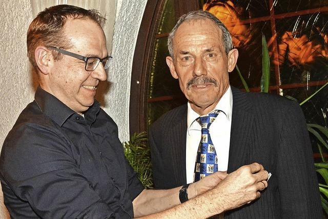 Stöcklin sitzt seit 50 Jahren beim RSV im Sattel