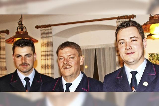Marcus Kiefer führt die Feuerwehr Dossenbach