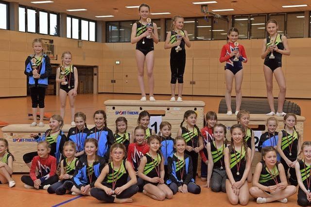 Bonndorfer Stadtmeisterschaften: Turnernachwuchs beeindruckt