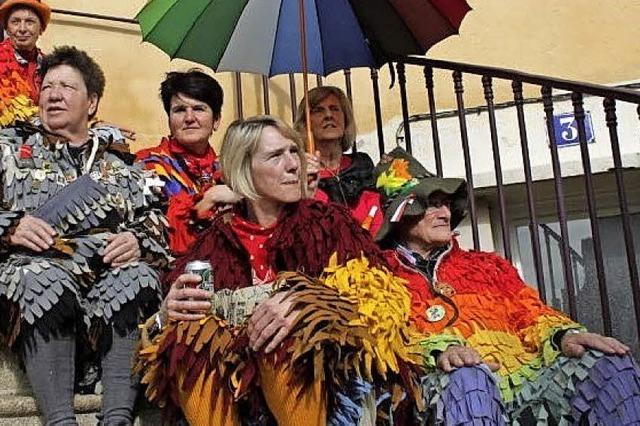 Regenbogennarren feiern