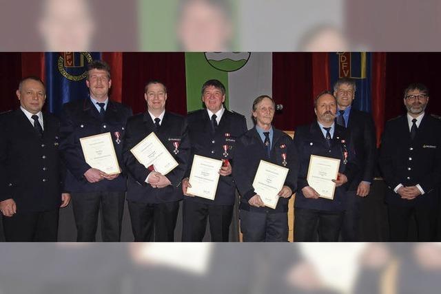 Feuerwehr Steinen hatte 90 Einsätze