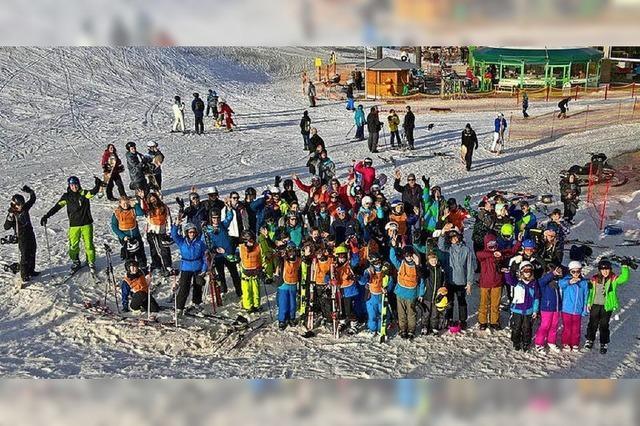Skifahren und Schlittschuhlaufen statt Schulunterricht