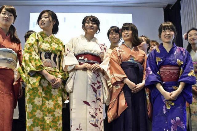 Beim Japan-Kulturtag gab's viel mehr als immer nur Sushi