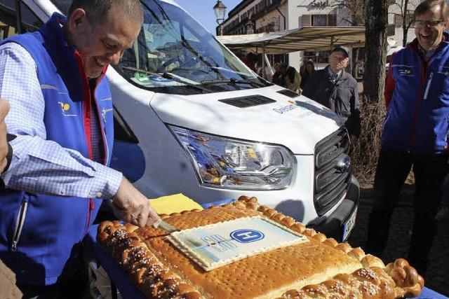 Bürgerbusverkehr in Kirchzarten eingeweiht