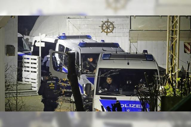 Großeinsatz der Polizei nach Anschlagsdrohung im Netz