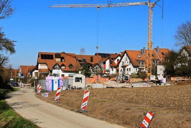 Flüchtlingswohnheime im Quartier Marbach werden gebaut – Parkplätze aber nicht