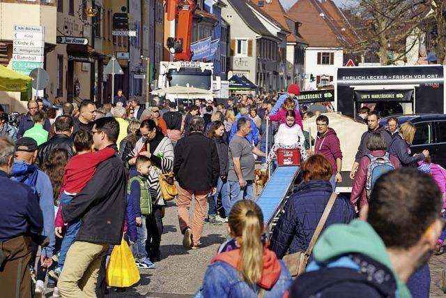 Ein guter Tag für Kenzingens Handel