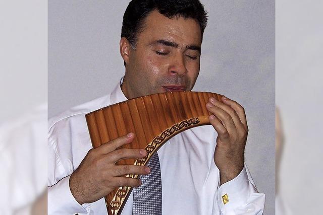 Panflötenkonzert in der Freien evangelichen Gemeinde Bad Säckingen