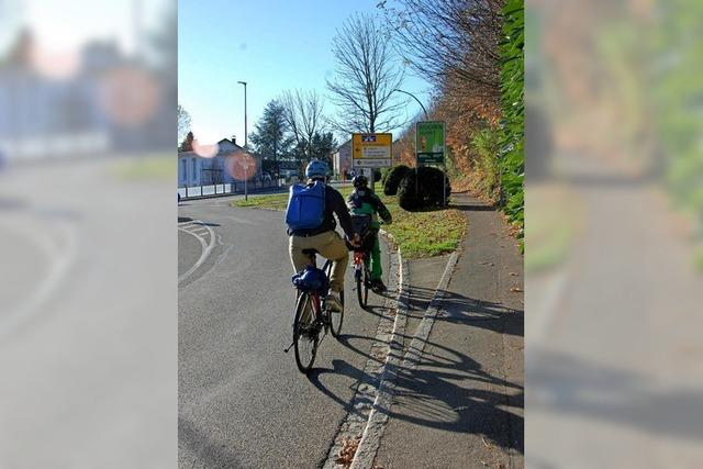 Umleitung in Riehen macht auch den Fahrradfahrern zu schaffen