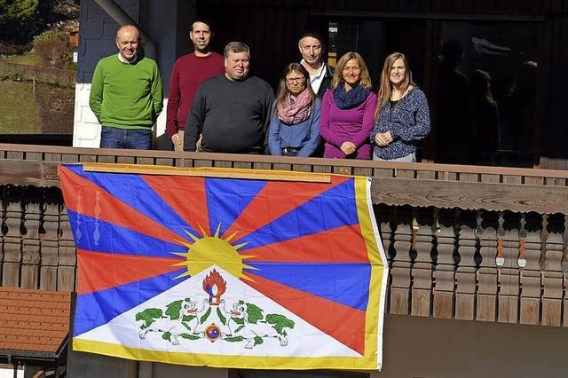 Eine Flagge für Tibet