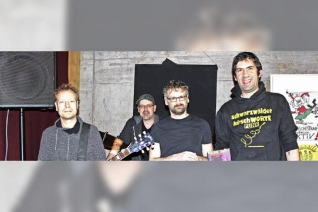 Erstes Album von Garasch Deluxe