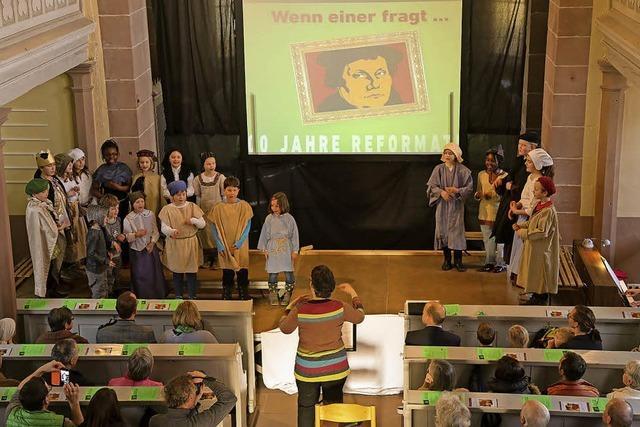 Kinderfragen zu Luther