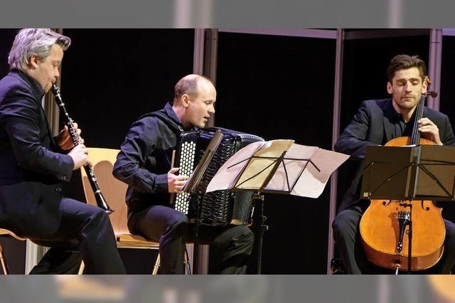 Trio vereint Klassik und Tango