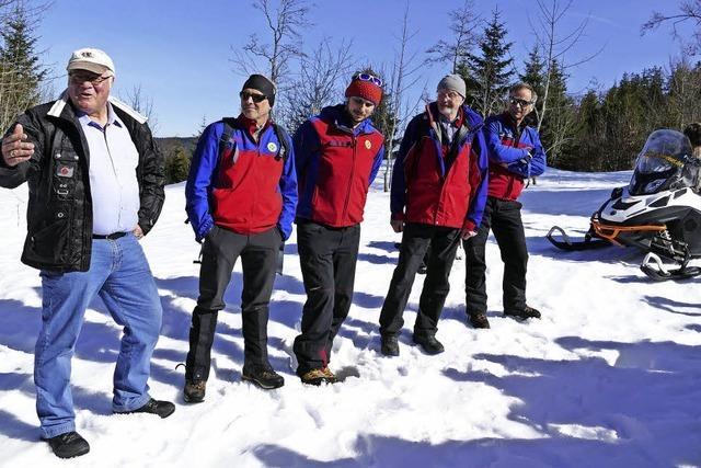 Unterstützung für die Bergwacht