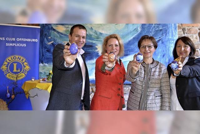 Lions verkauft 3000 künstlerisch bemalte Ostereier