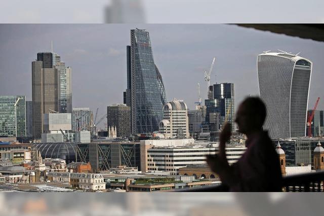 Großbritanniens Finanzkraft schwindet
