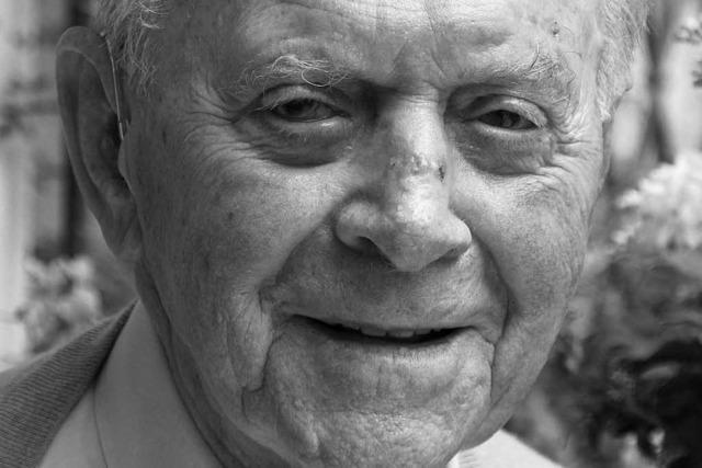 Schallstadts Altbürgermeister Oskar Hanselmann ist tot