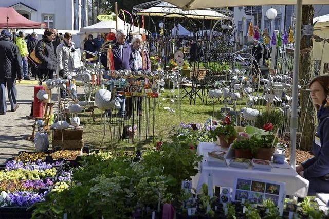 Gartenausstellung im Schlosspark Bad Säckingen