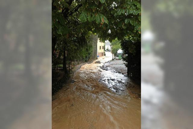 Das Hochwasser soll draußen bleiben