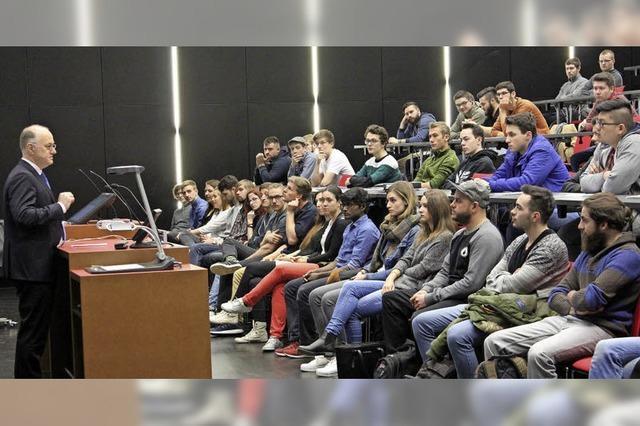 430 Erstsemester starten an der Hochschule Offenburg