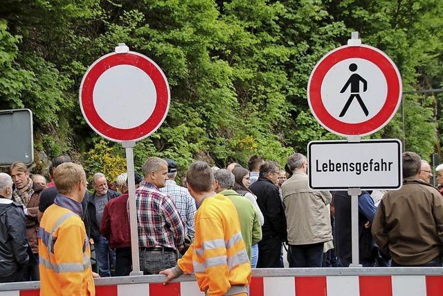 Veranstaltung zur Albtalstraße in Schachen
