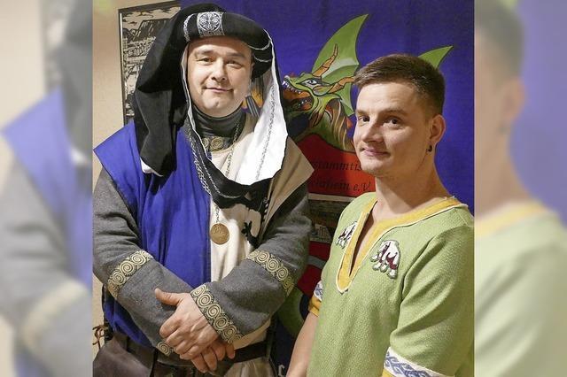 Mittelalterfreunde haben neuen Chef