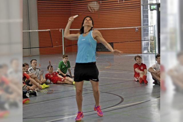 Von der Olympia-Sportlerin lernen