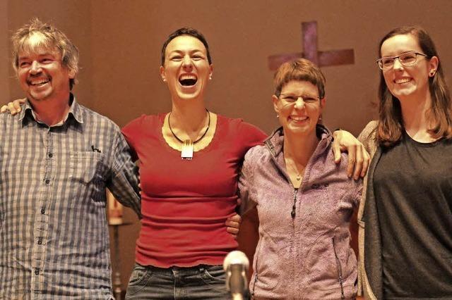 Steffi Lais legt Emotionen in jede Note