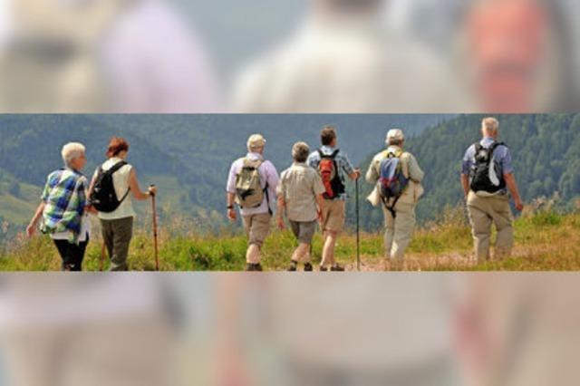 Viele Wanderer, wenige Engagierte