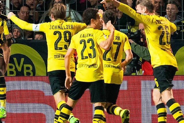 Borussia Dortmund reißt Lotte aus den Pokalträumen