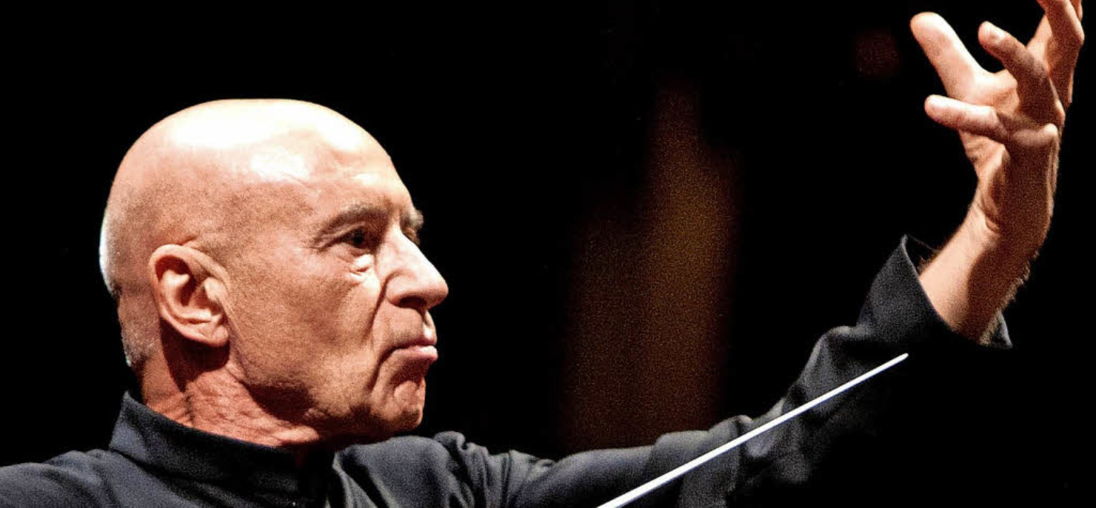 Das SWR Symphonieorchester spielt Gust...der Leitung von Christoph Eschenbach.   | Foto: Luca Piva