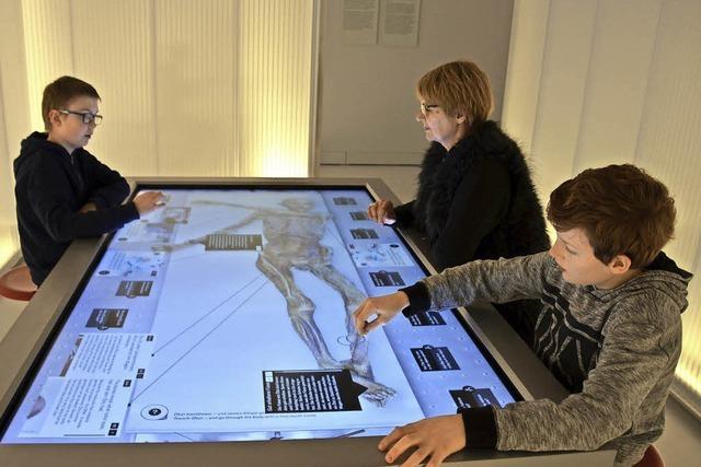 Mumien-Ausstellung