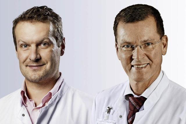 Doktores Michael Pfeiffer und Stefan Endres referieren beim Gesundheitsforum über