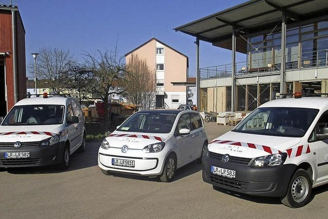Bau- und Gartenbetrieb nun auch mit Elektroauto
