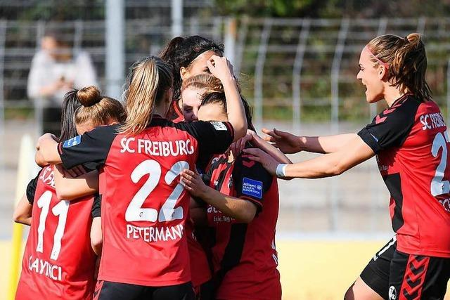 Frauen des SC Freiburg stehen zum sechsten Mal im DFB-Pokal-Halbfinale