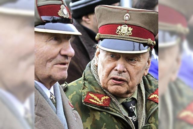 Gedenkmarsch der Veteranen lettischer SS-Zwangsrekruten ist umstritten