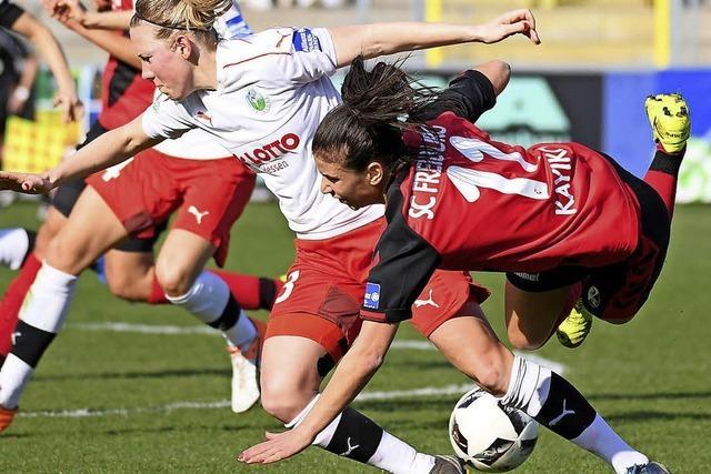 Frauen des SC Freiburg zum sechsten Mal im Halbfinale des DFB-Pokals