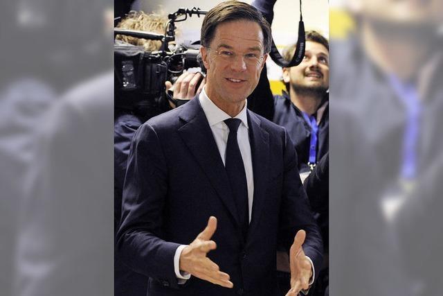 Mark Ruttes Partei ist trotz Verlusten stärkste Kraft bei der Parlamentswahl